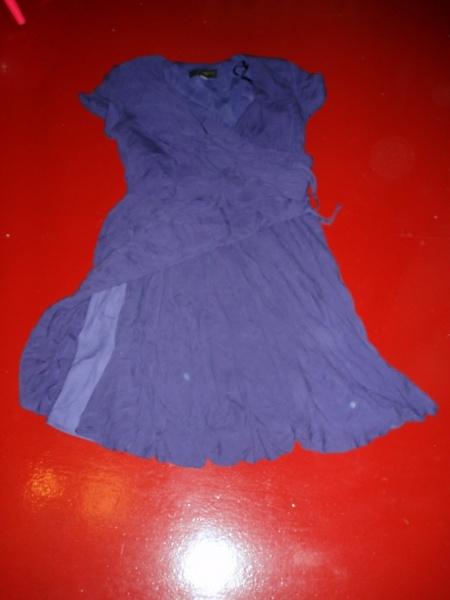 Продам: Фиолетовое платье 48-50 размер