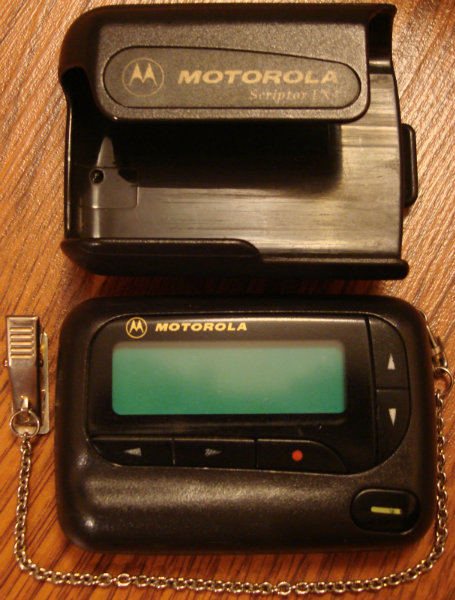 Продам Пейджер четырехстрочный Motorola