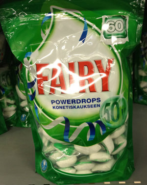 Продам Таблетки для посудомойки Fairy из Финлян