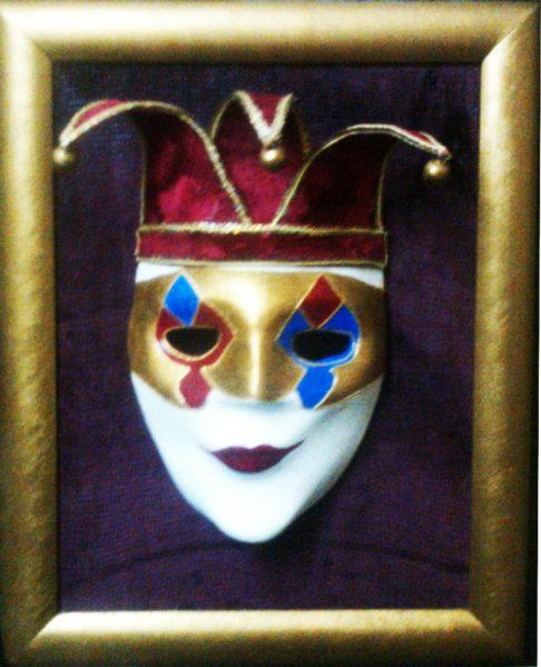 Продам Инерьерная скульптура,венецианская маска
