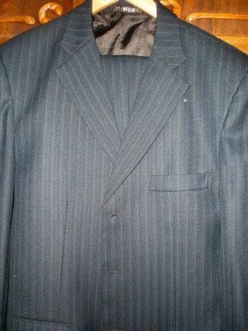 Продам Мужской деловой костюм Димова (темно-син