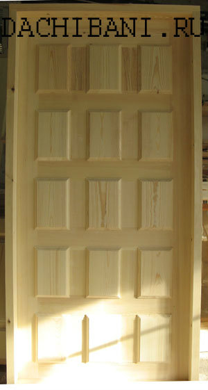 Продам Окна и двери из массива сосны