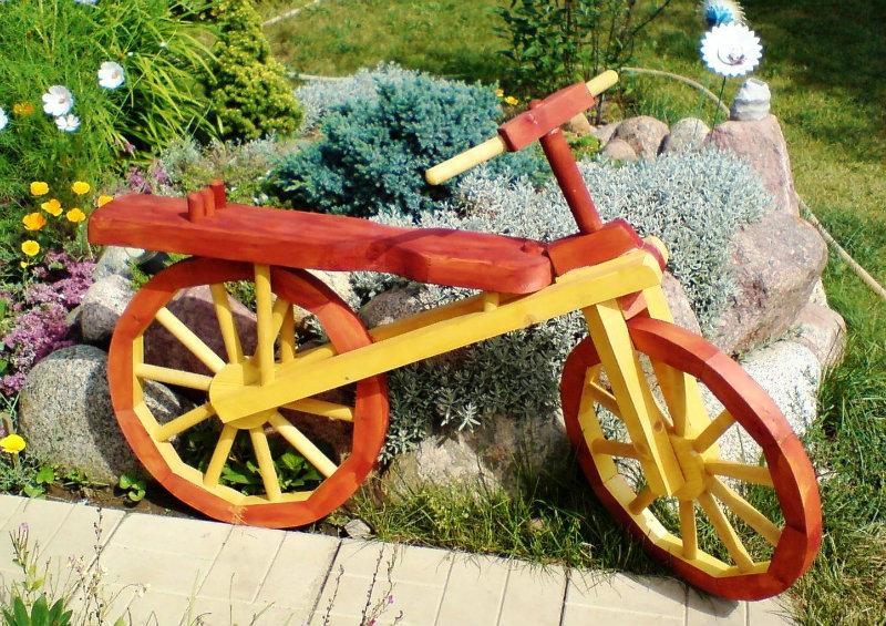 Продам: Деревянный велосипед для декора сада