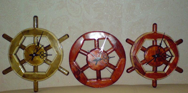 Продам: Часы - колесо - штурвал