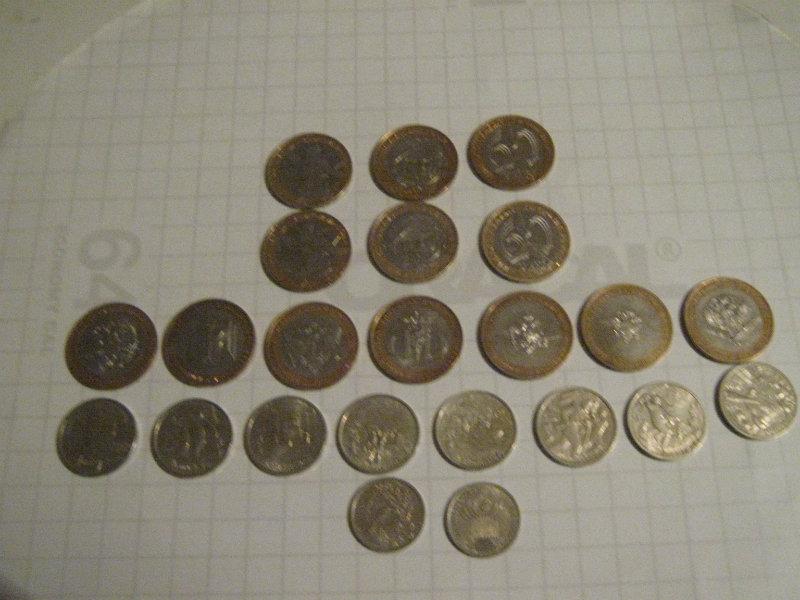 Продам: обменяю 10,2,1 рублёвые монеты