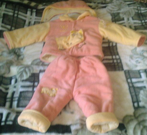 Продам Утепленный костюм на девочку