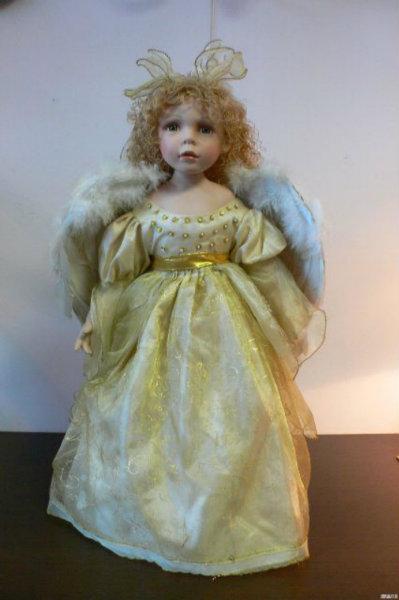 Продам Кукла фарфоровая «Ангел» (Германия)