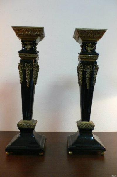 Продам Подсвечники (фарфор, бронза) (1)