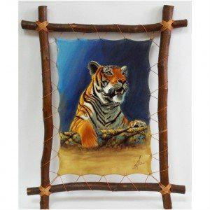 Продам Картина на коже украшение интерьера