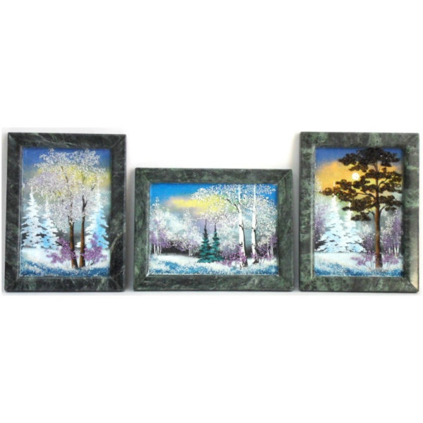 Продам Зима. Картина из каменной крошки