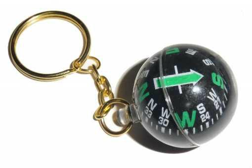Продам: Золотой брелок компас шар для  охоты