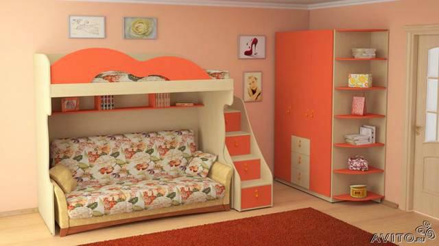 Продам Детская мебель на заказ (Апельсин 2)