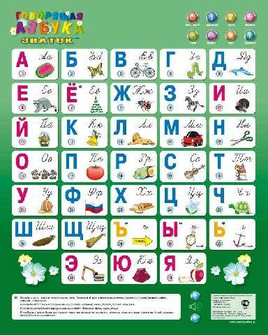Продам Озвученный плакат Говорящая азбука