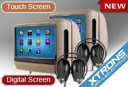 Продам Подголовники с сенсорным экраном и DVD