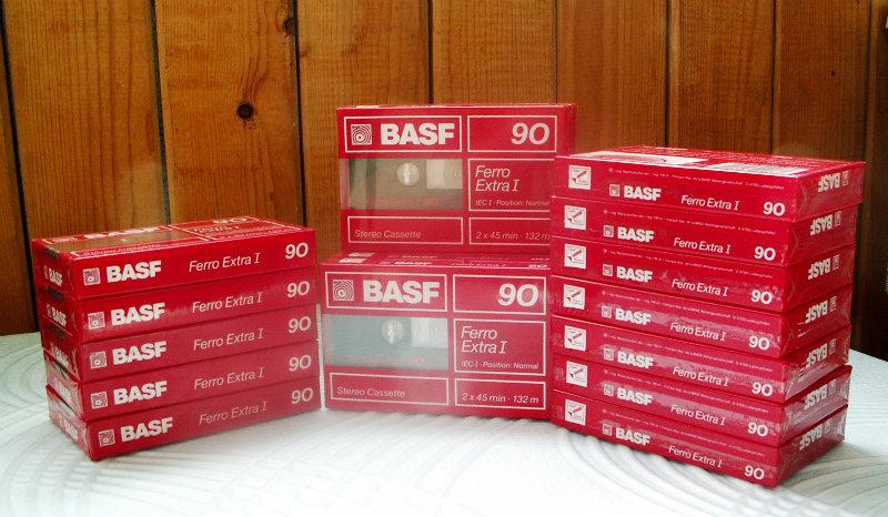 Продам Компакт-кассеты новые