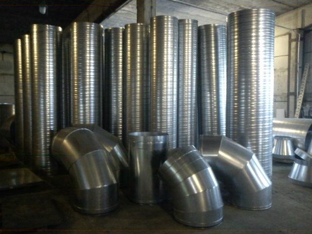 Продам Воздуховоды и аксессуары для вентиляции