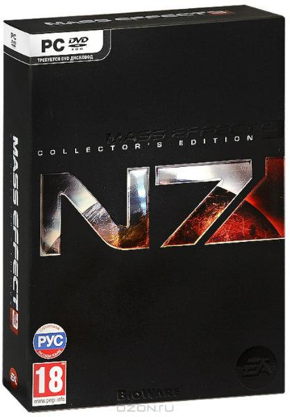 Продам Коллекционное издание Mass Effect 3