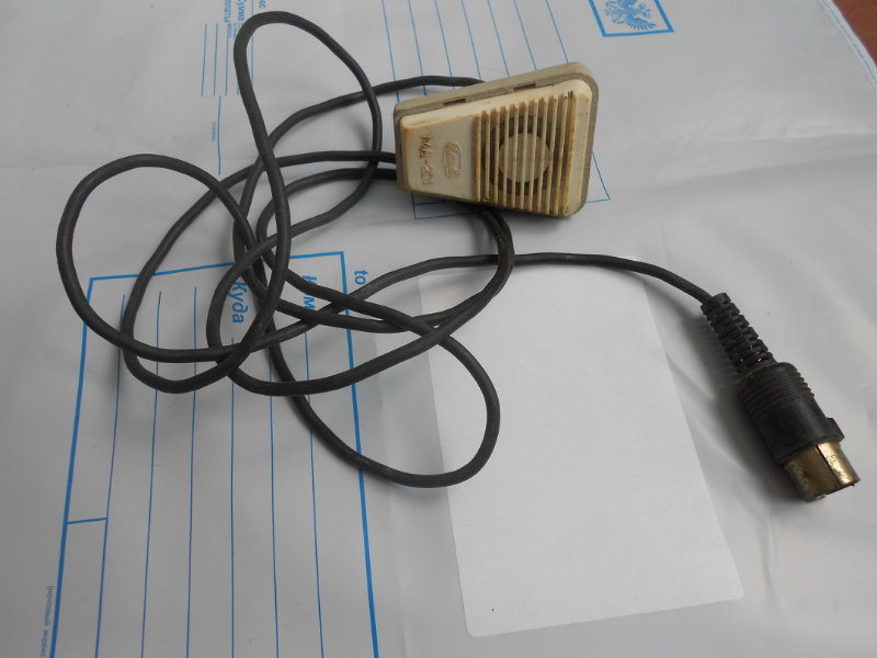 Продам: микрофон любительский 1983 года.