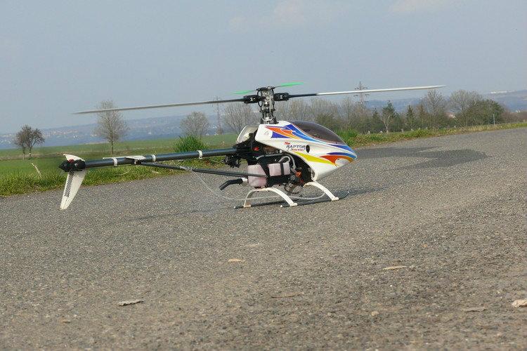 Продам Raptor 50 Titan RC модель вертолёта