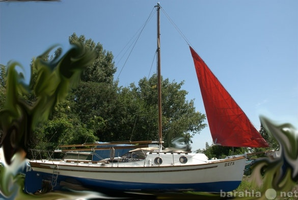 Продам Старинная парусная яхта