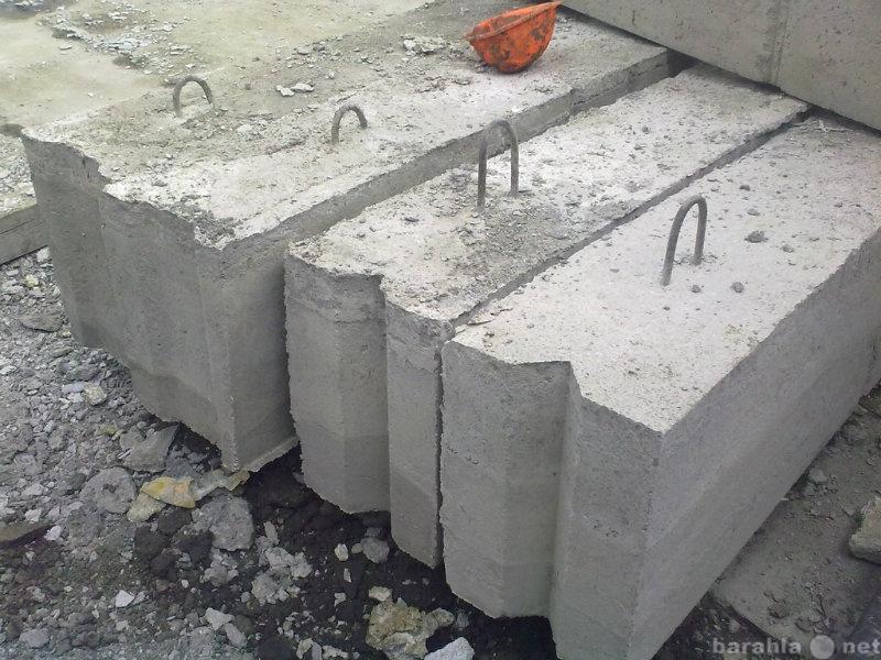 Продам: фундаментные блоки б у, ЖБИ плиты б у.