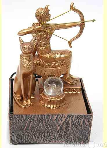 Продам Фонтан Охотница египетские мотивы