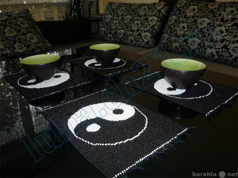 Продам -салфетки для стола из бисера(на заказ)