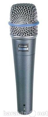 Продам Микрофон SHURE BETA 57 A вокально-инстр