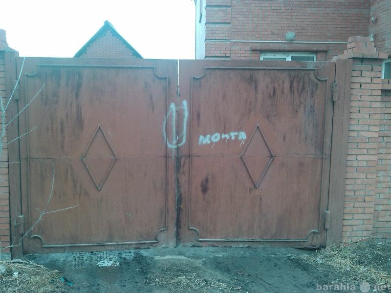 Продам Въездные железные ворота 4х2,10