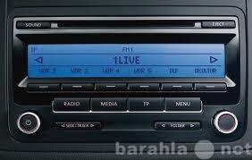 Продам: Штатная магнитола для Volkswagen RCD-310