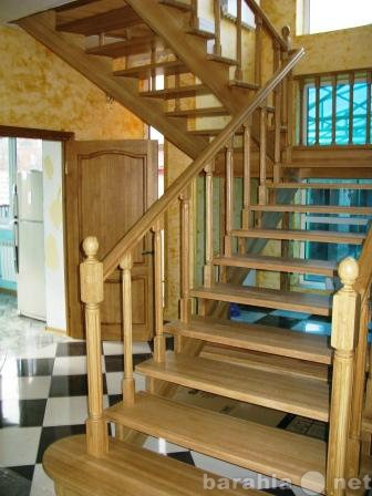 Продам Лестницы из дерева