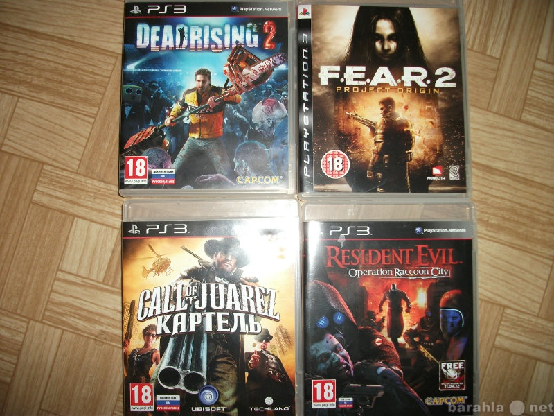 Продам 4 игры для PS3 за 2500 р.(в идеал.сост.)