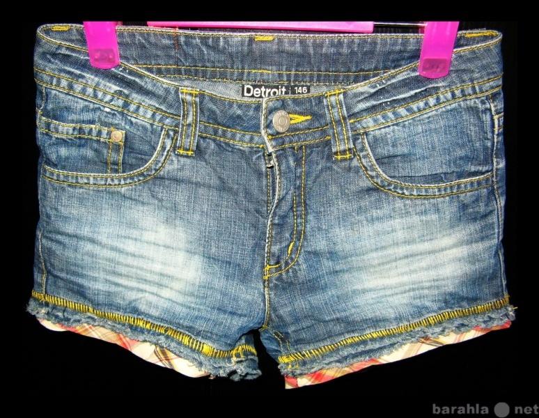 Продам для девочки 10-11 лет  Шорты (м146)