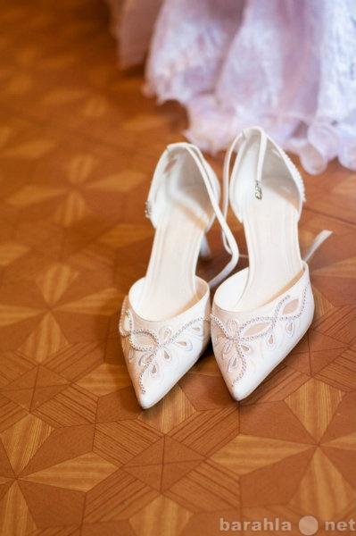 Продам свадебные босоножечки