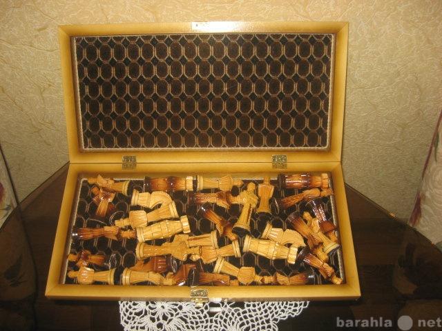 Продам Шахматы подарочные резные