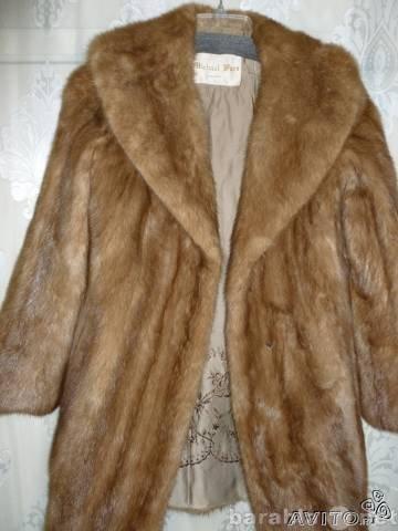 Продам Норковая шуба (размер 40-42)