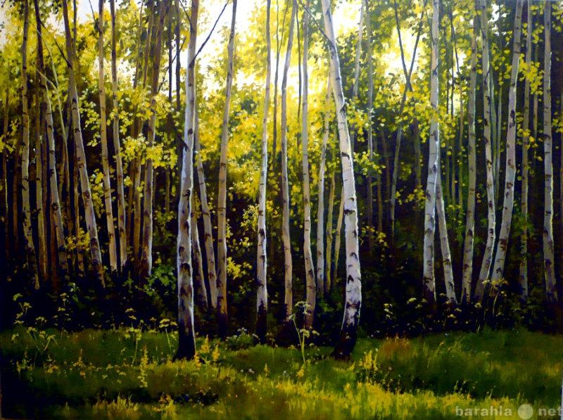 Продам Картина Березовый лес