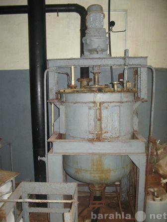 Продам Фторопластовый реактор с титановой 0,4м3
