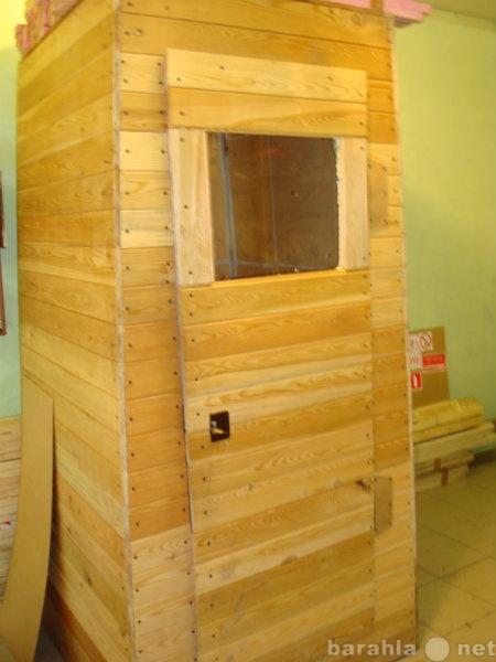 Продам туалет из лиственницы