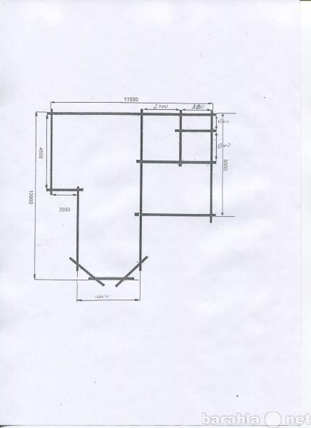 Продам сруб 2-х этажного дома