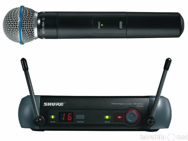 Продам Микрофон SHURE PGX24/BETA58 радиосистема