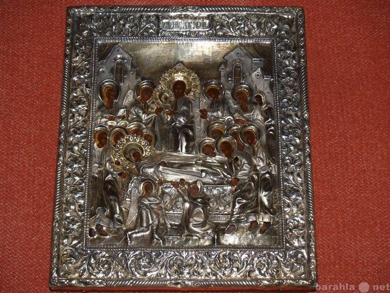 Продам Икона Успение Пресв. Богородицы в окладе