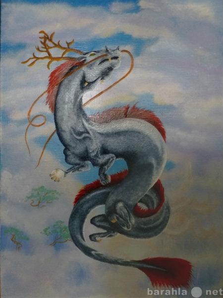 """Продам Продаю картину """"Китайский дракон&am"""