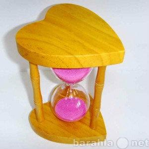 Продам: Часы песочные Розовое сердце
