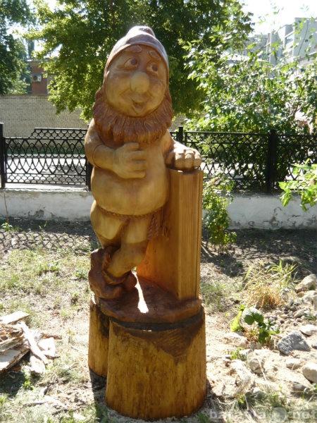 Продам: Деревянная скульптура для садов и скверо