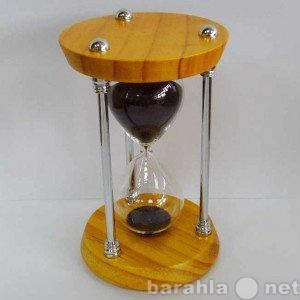Продам Часы песочные, дерево, металл,