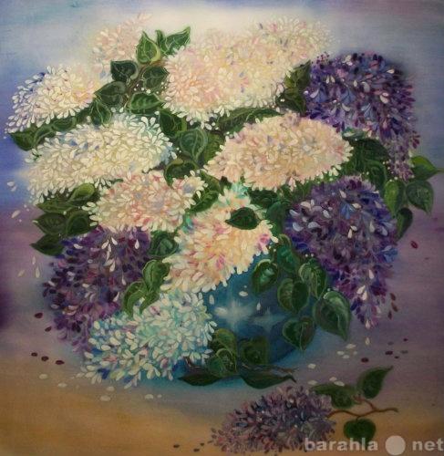 Продам Картины (шелковая живопись)