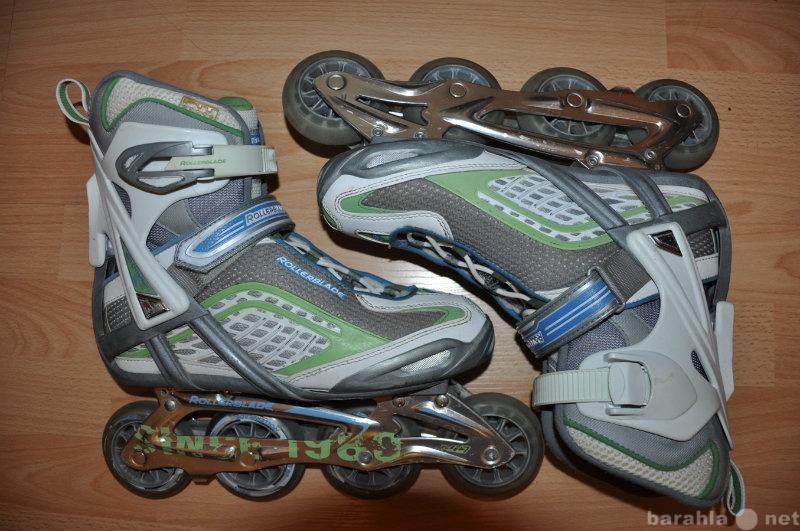 Продам Роликовые коньки Rollerblade +защита+рюк