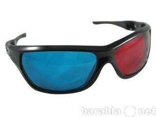 Продам Пластиковые анаглифные 3D очки