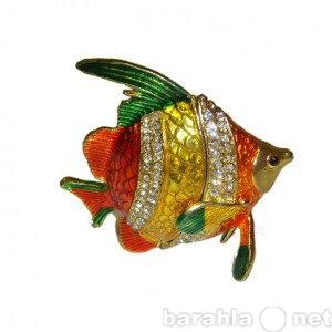 Продам: Ювелирная шкатулка Золотая рыбка
